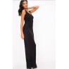 Czarna maxi Jersey od S do 3XL basic